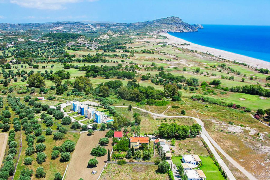 Afandou Golf Course in Rhodes - Greece